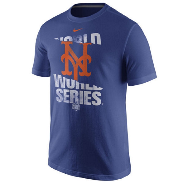 mets world series gear tshirt