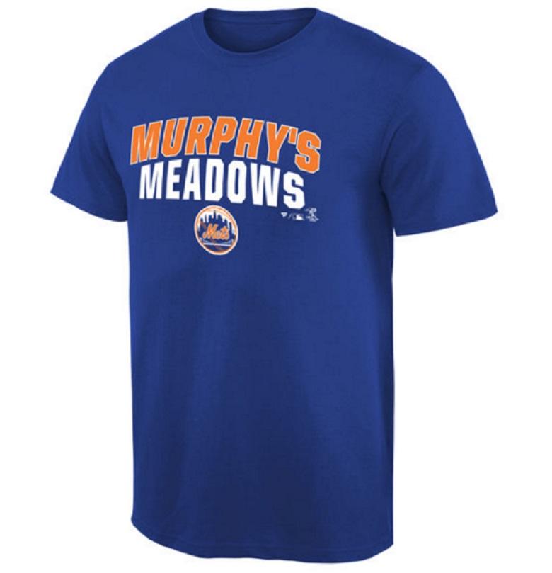 daniel murphy t-shirt mets national league championship gear
