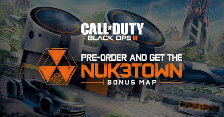 Call of Duty Black Ops 3 Nuk3town