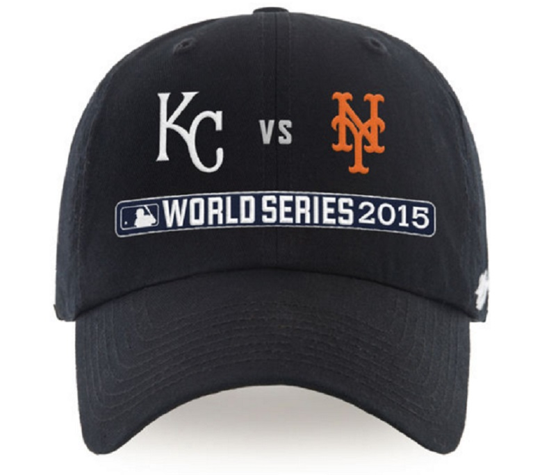 mets royals world series hats gear apparel