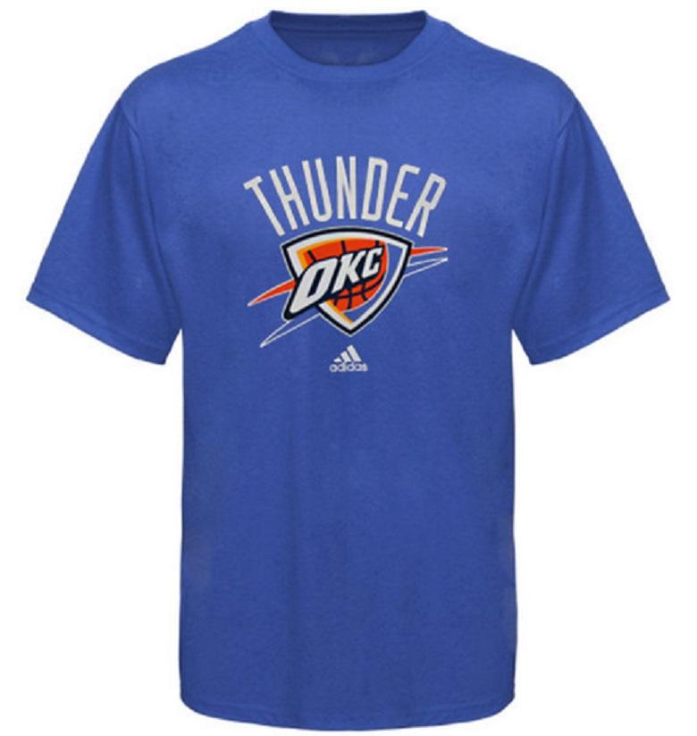 thunder men's shirts oklahoma city gear