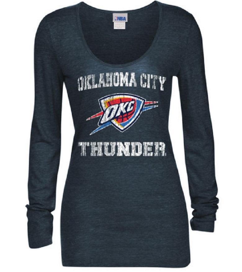 thunder women's shirt okc apparel