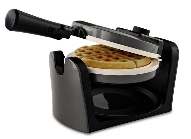 Oster CKSTWFBF10WC-ECO DuraCeramic Flip Waffle Maker, waffle maker, waffle iron