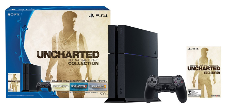 Uncharted Nathan Drake Collection PS4 Bundle
