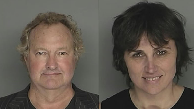 Randy Quaid and Evi Quaid mugshots
