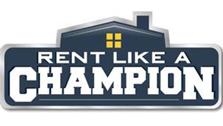 rent like a champion, rent housing football games, airbnb games, college football airbnb
