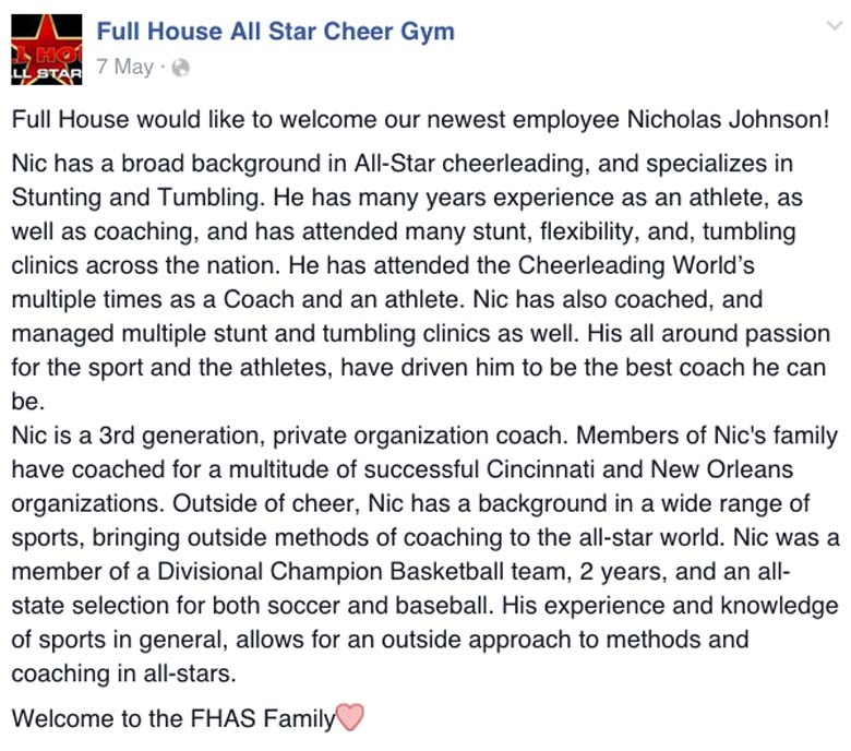 Full House All Stars Facebook page