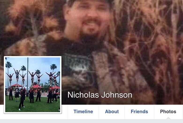 Nicholas Johnson's Facebook page