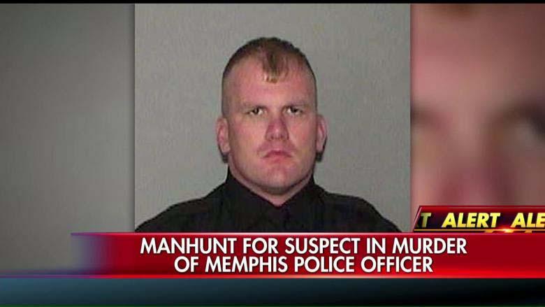 Officer Sean Bolton who was slain in Memphis in August 2015. (Screengrab via Fox News)