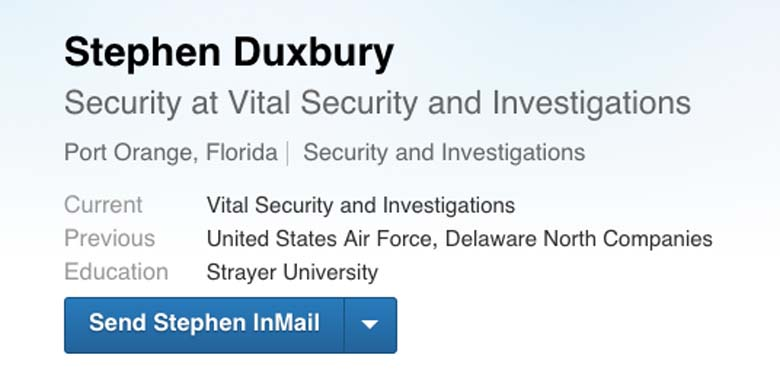 Stephen Duxbury US Air Force