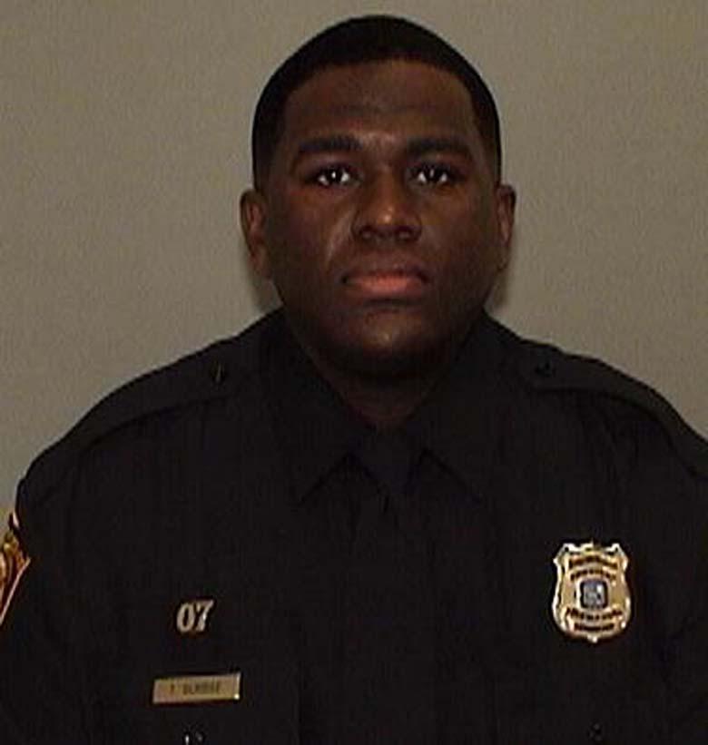 Officer Terence Olridge funeral
