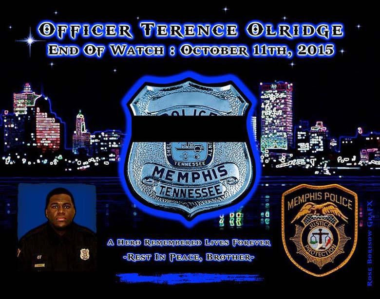 Terence Olridge Facebook tribute