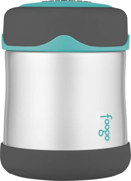 THERMOS FOOGO Vacuum Insulated Stainless Steel 10-Ounce Food Jar, thermos, thermos food jar