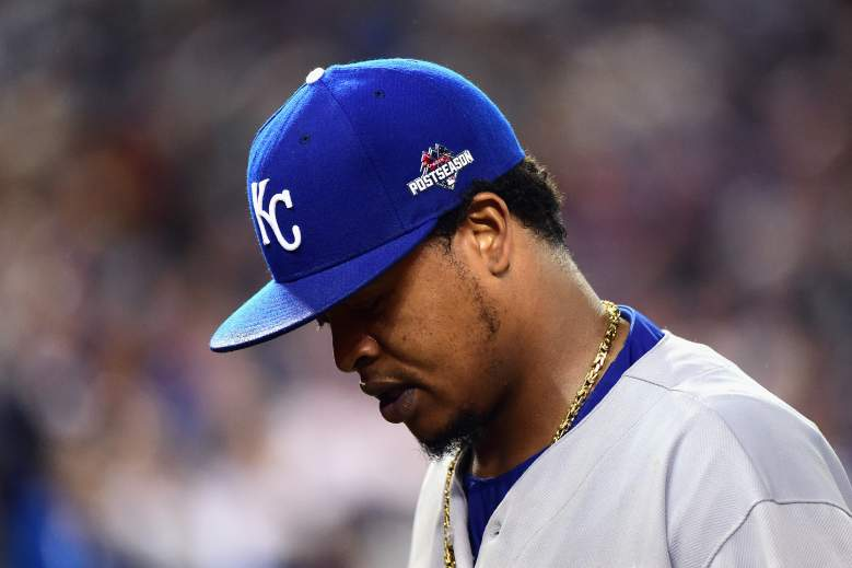 Edison Volquez was disappointing in Game 5 of the ALCS, but will be a big part of the Royals' World Series rotation. (Getty)