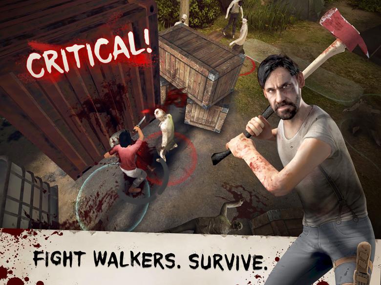 Walking Dead No Man's Land