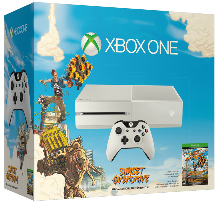 Xbox One Sunset Overdrive Bundle