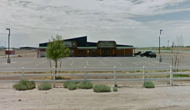 The equestrian center in Buckeye, Arizona where Rater was found. (Google Maps)