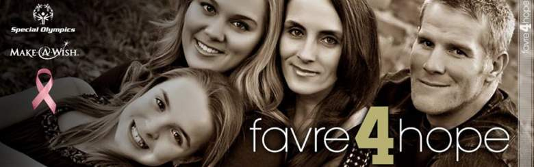 brett favre wife, brett favre daughters, nfl