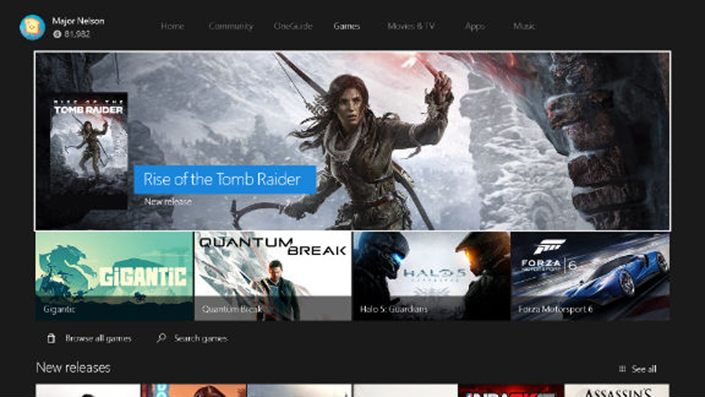 The New Xbox One Experience