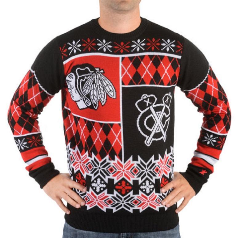 nhl ugly sweaters blackhawks ugly sweater