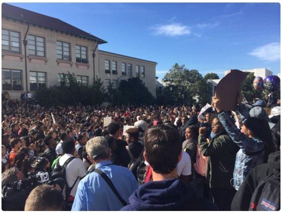 Berkeley High School protests, black lives matter