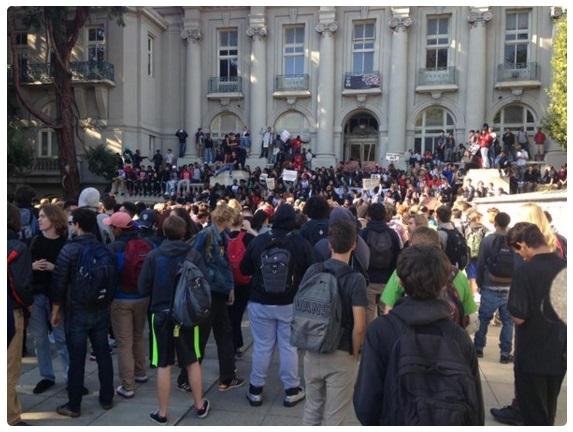 berkeley high school protests