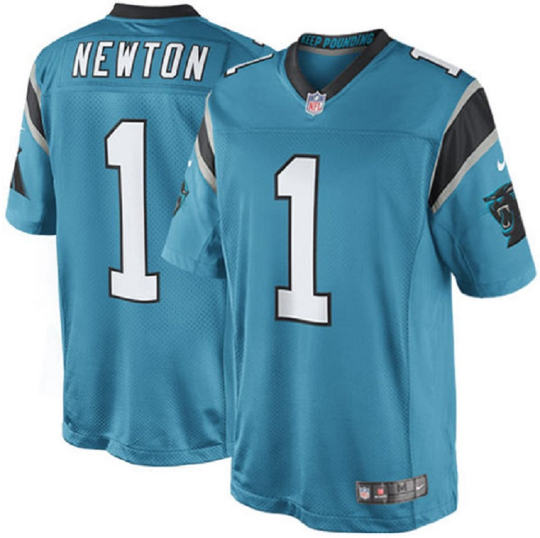 cam newton color rush jersey panthers gear
