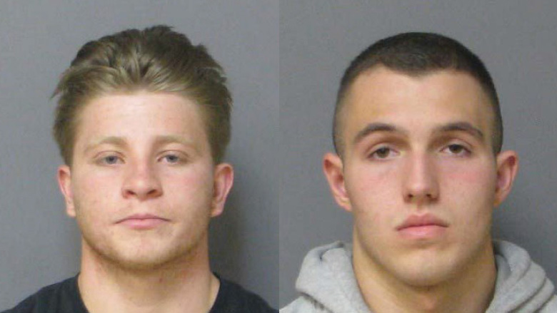 Cameron Capella and Derrick DeMone mugshot