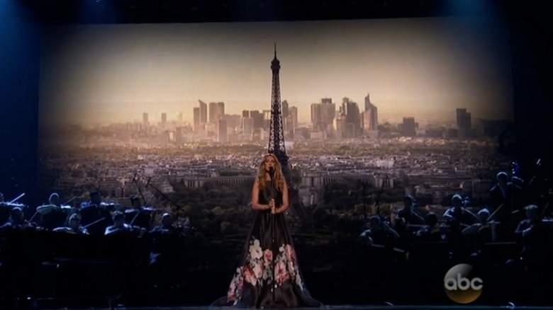 Celine Dion, Celine Dion Paris Tribute Performance, Celine Dion AMAs 2015, Celine Dion American Music Awards Performance 2015