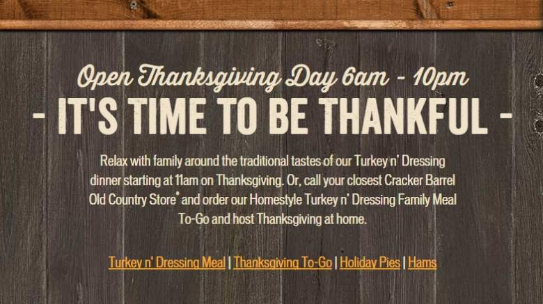 Cracker Barrel, Cracker Barrel Thanksgiving, Cracker Barrel Thanksgiving Hours 2015, Cracker Barrel Thanksgiving 2015 Menu, Cracker Barrel Thanksgiving Menu, Cracker Barrel Thanksgiving To Go Menu 2015, Cracker Barrel Thanksgiving Dinner Menu 2015, Cracker Barrel Thanksgiving Meals 2015