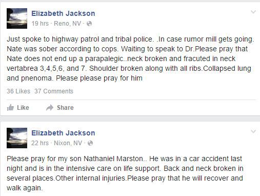 Nathaniel Marston, Nathaniel Marston car crash, nathaniel marston dead, nathaniel marston condition, nathaniel marston paralyzed, nathaniel marston soap opera star
