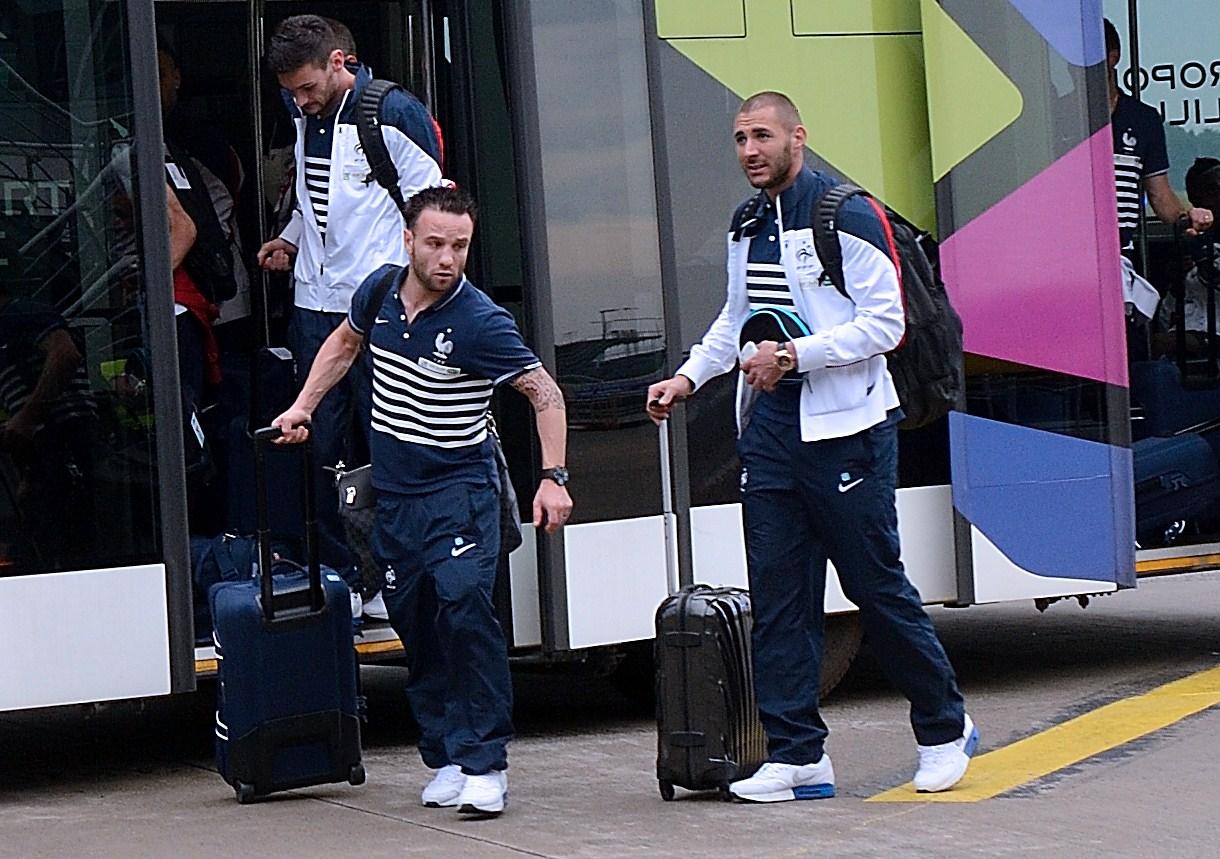 Mathieu Valbuena and Karim Benzema friends, Mathieu Valbuena and Karim Benzema teammates