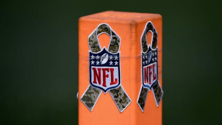 """November is """"Salute to Service"""" month in the NFL. (Getty)"""