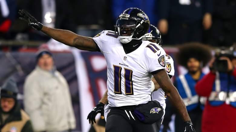 Kamar Aiken, Baltimore Ravens, NFL