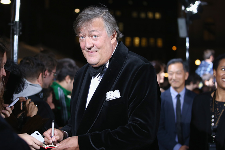 Openly gay actor Stephen Fry said that Sastry was one of the few women he was attracted to. (Getty)