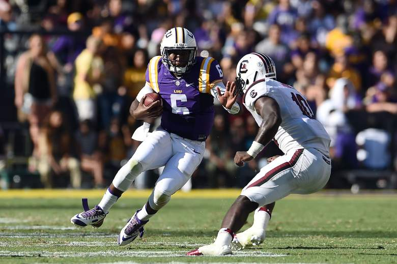 Brandon Harris has been part of the reason for LSU's success. (Getty)