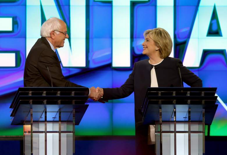 Democratic Debate, Democratic Forum, MSNBC, TV