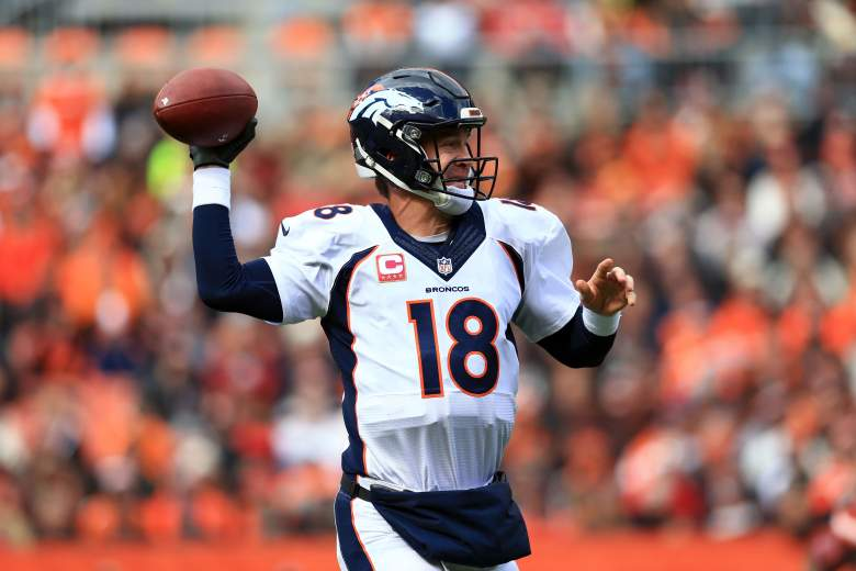 Peyton Manning has struggled early in the 2015 season. (Getty)