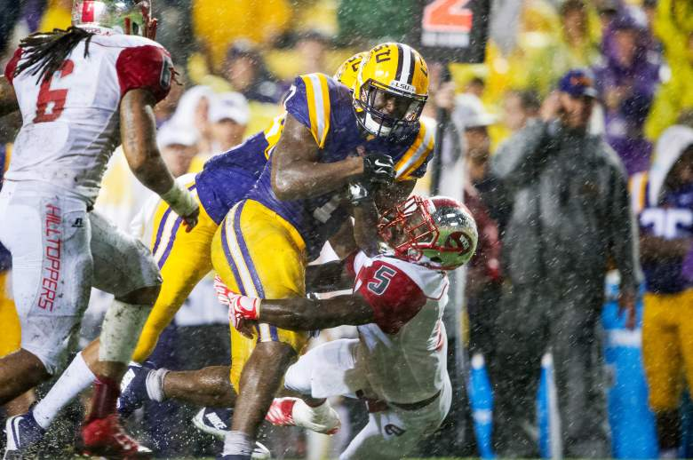 Leonard Fournette is one of the best running backs in the nation. (Getty)