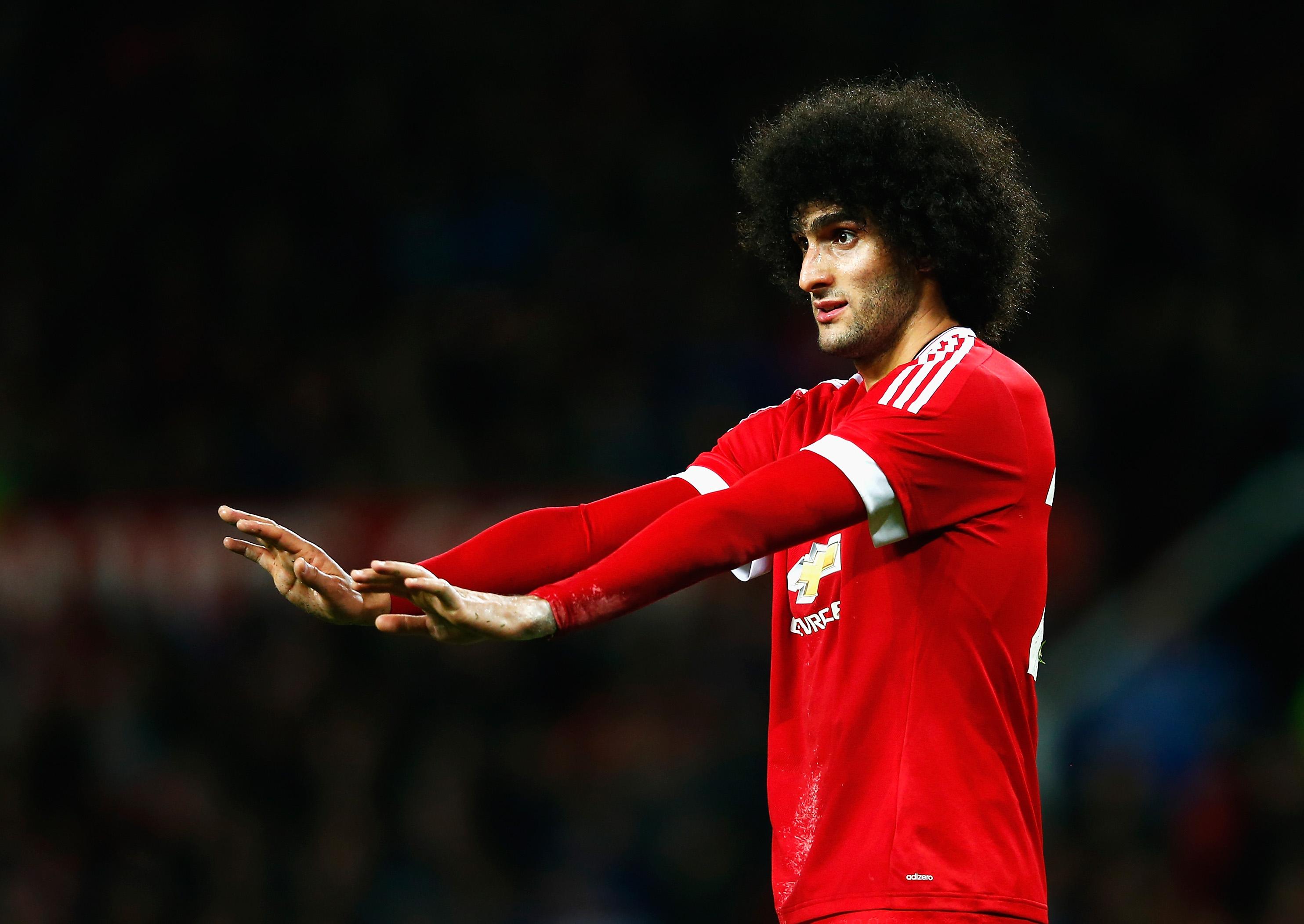 Marouane Fellaini, Manchester United