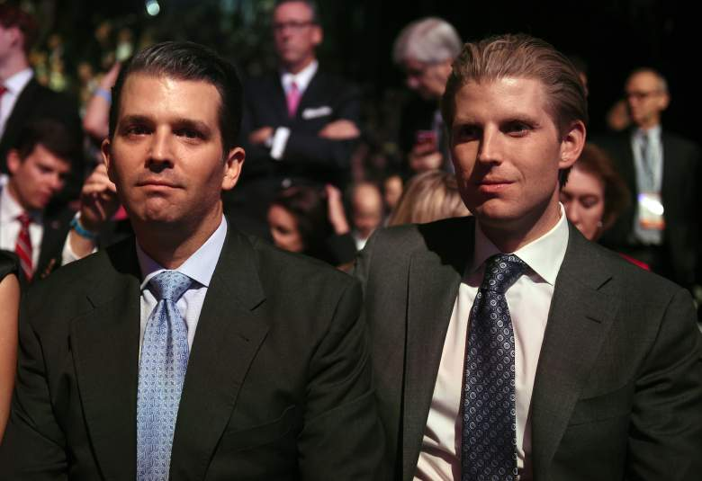 eric trump and donald trump jr