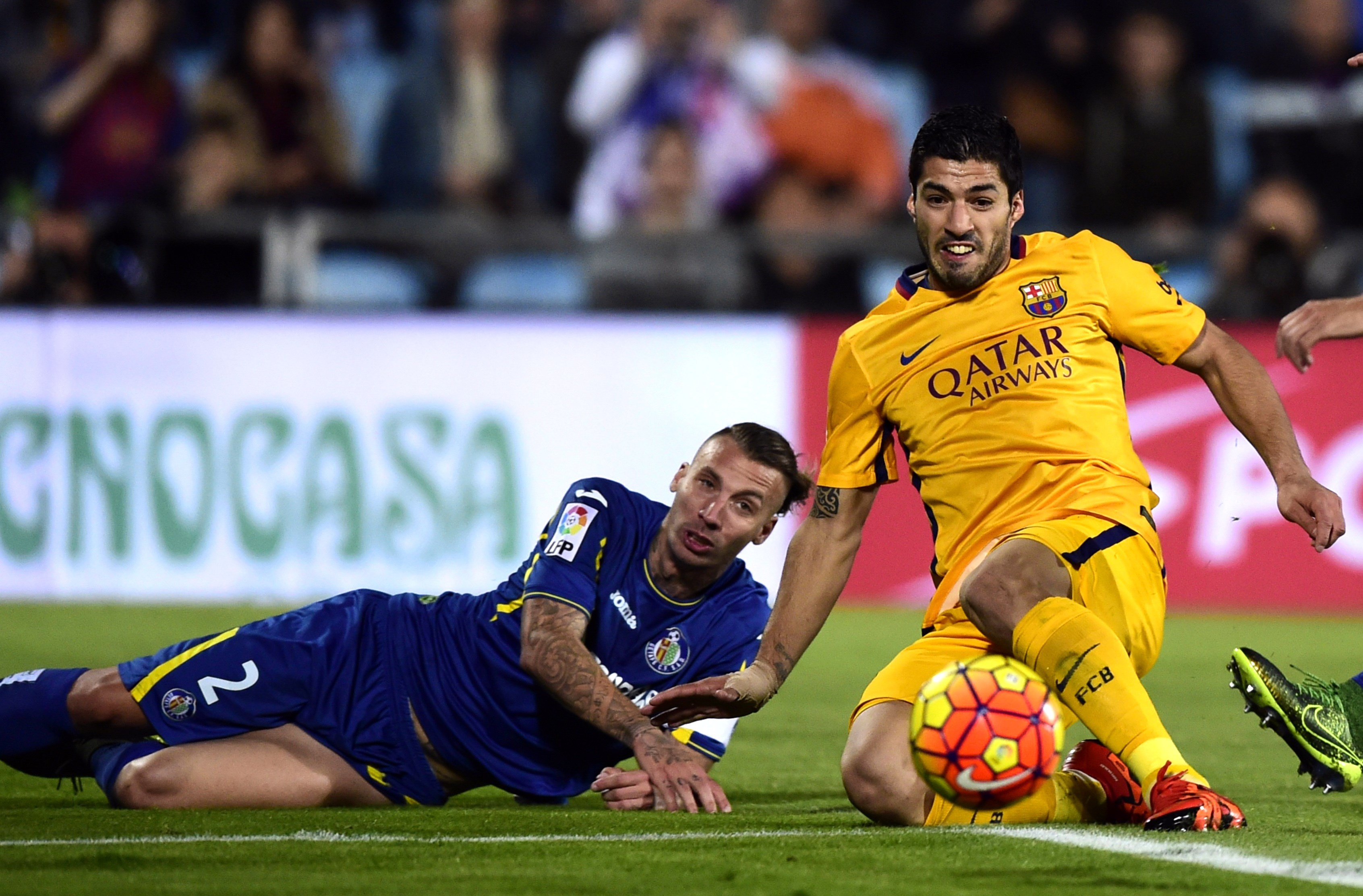 Luis Suarez has been scoring in bunches for Barcelona. (Getty)