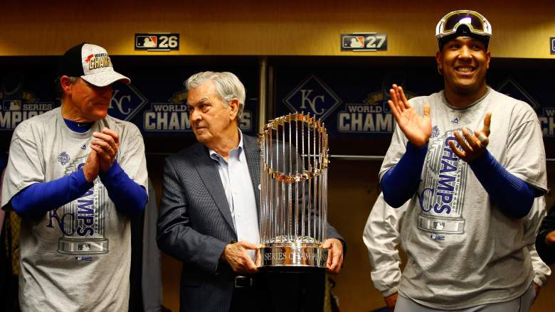 The Kansas City Royals are the 2015 World Series champions. (Getty)