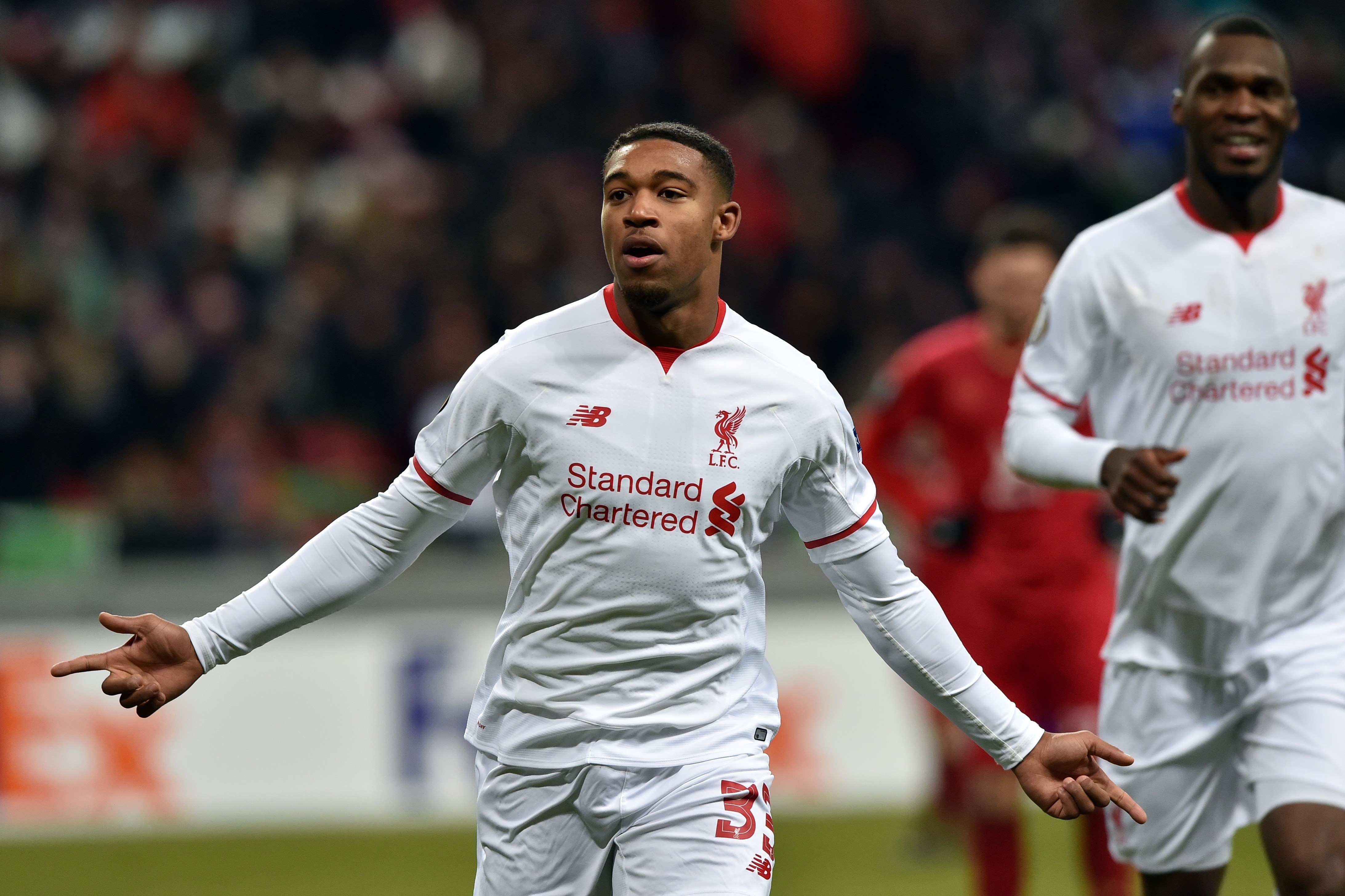 Jordon Ibe and Liverpool are trending in the right direction. (Getty)