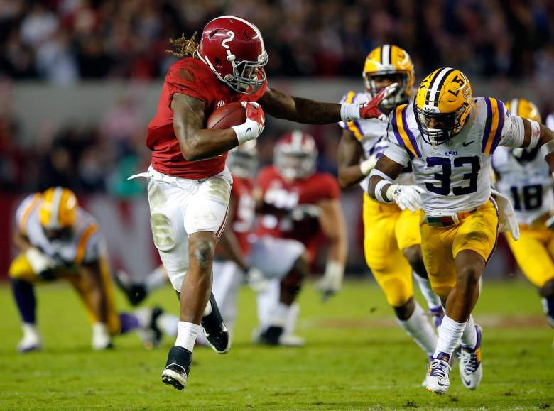 Derrick Henry was the best running back on the field. (Getty)
