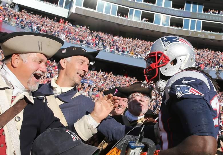 LaGarrette Blount, New England Patriots, NFL