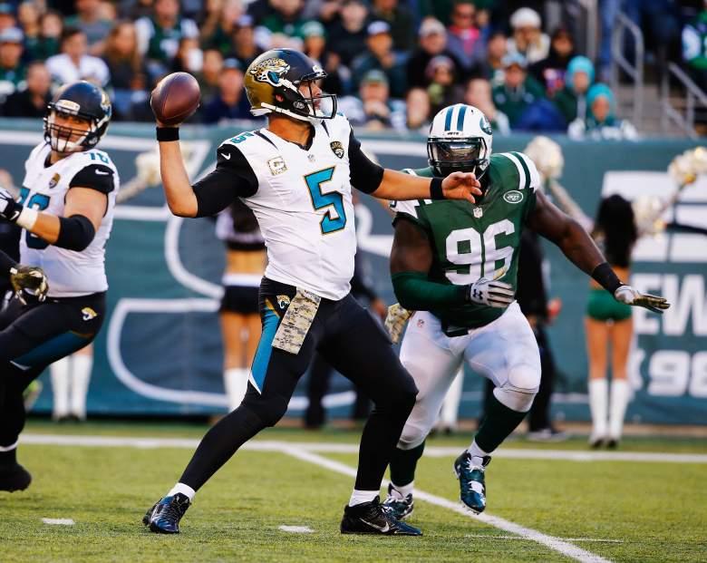 Blake Bortles, Jacksonville Jaguars, NFL
