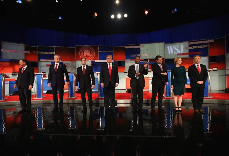 Republican Presidential Candidates, GOP debate, Republican polls