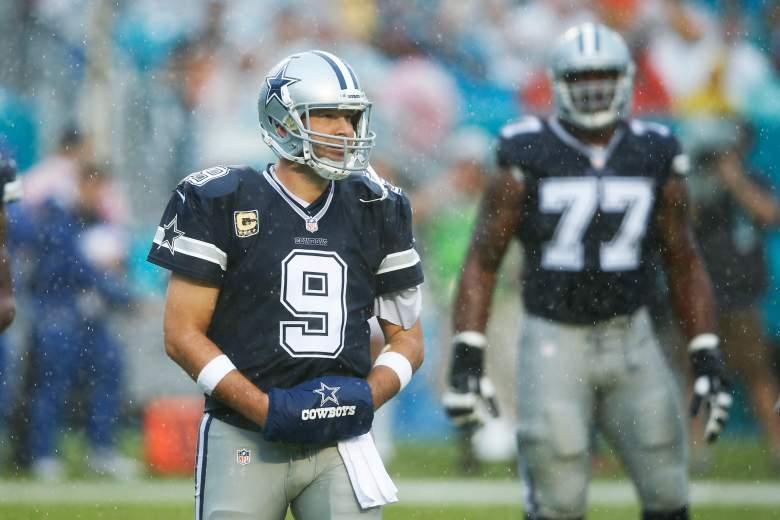 Tony Romo, Dallas Cowboys, NFL
