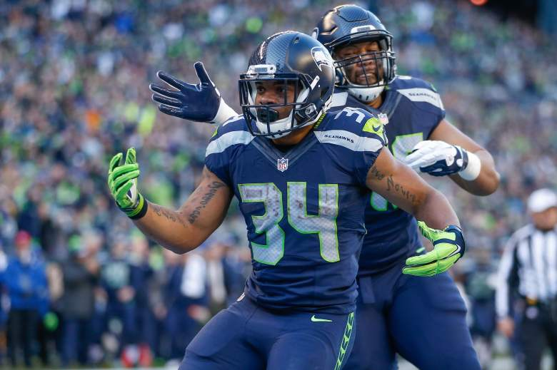 Thomas Rawls may be the Seahawks running back of the future. (Getty)